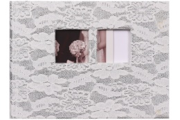 Svadobný fotoalbum na rožky TWO HEARTS 22x16/50s.