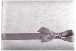 Fotoalbum na rožky 24x16cm/60s. strieborný