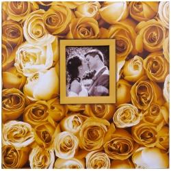 Fotoalbum na rožky 30x30/100s. ANYWHERE ROSES žltý