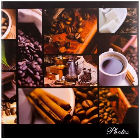 Fotoalbum na rožky 30x30/100 strán SILENT MOMENTS káva