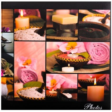 Fotoalbum na rožky 30x30/100 strán SILENT MOMENTS ružový