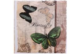Fotoalbum na rožky 30x30/100 strán ROMANTIC SIDE zelený