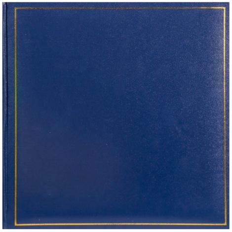 Fotoalbum na rožky 30x30/100s. TRADITION modrý