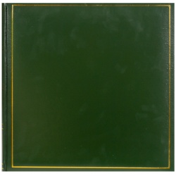 Fotoalbum na rožky 30x30/100s. TRADITION zelený
