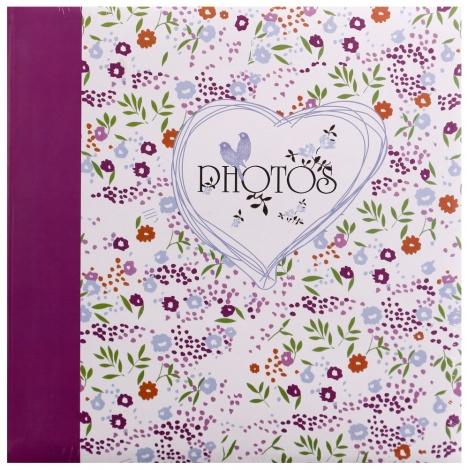 Fotoalbum na rožky FIELD OF FLOWER 30x30/100s. fialový