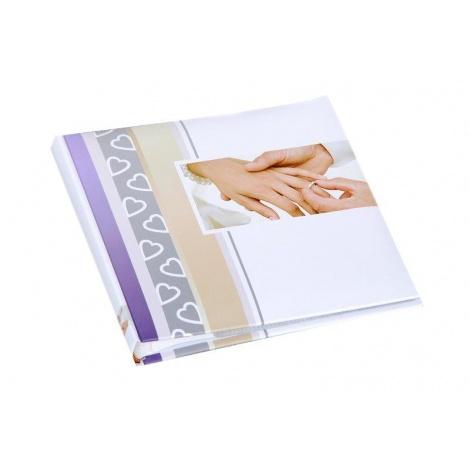 Svadobný fotoalbum 13x18/50foto popis WEDDING ruky