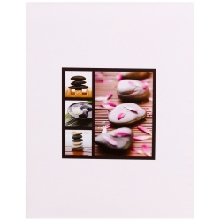 Fotoalbum 10x15/100 STONES biely