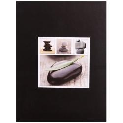 Fotoalbum 10x15/100 STONES čierny