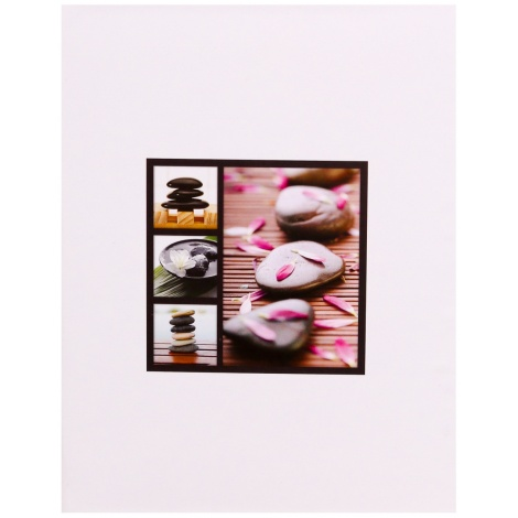 Fotoalbum 13x18/100 STONES biely