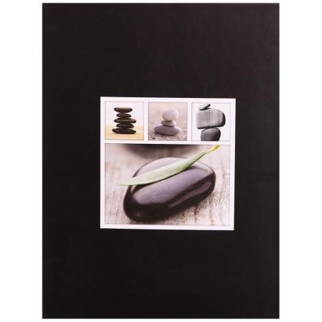 Fotoalbum 13x18/100 STONES čierny