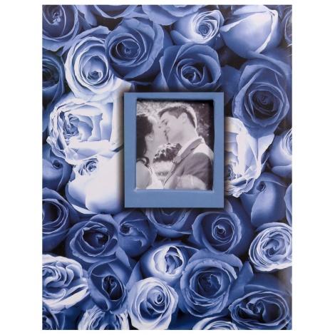 Fotoalbum 10x15/100 ANYWHERE ROSES modrý