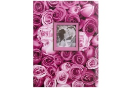 Fotoalbum 13x18/100 foto ANYWHERE ROSES fialový