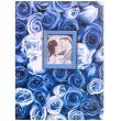 Fotoalbum 13x18/100 foto ANYWHERE ROSES modrý