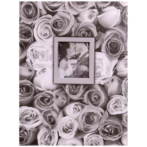 Fotoalbum 13x18/100 foto ANYWHERE ROSES šedý