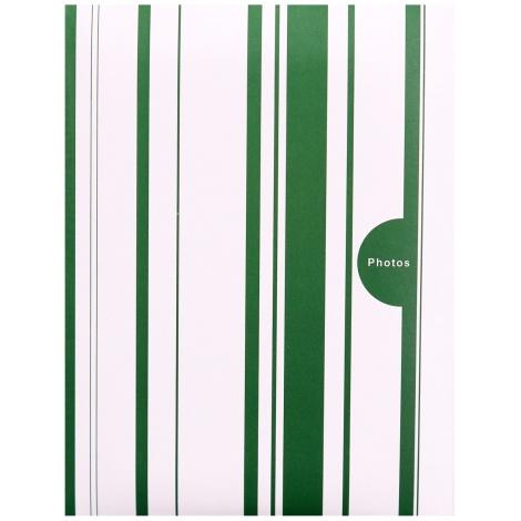 Fotoalbum 10x15/100 foto COLOR STRIPES zelený