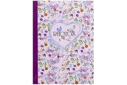 Fotoalbum 10x15/100 foto FIELD OF FLOWERS fialový