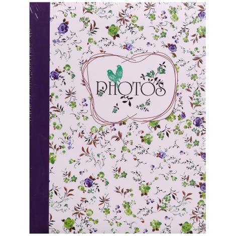 Fotoalbum 10x15/100 foto FIELD OF FLOWERS modrý