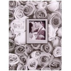 Fotoalbum 10x15/200 foto s pop. ANYWHERE ROSES šedý