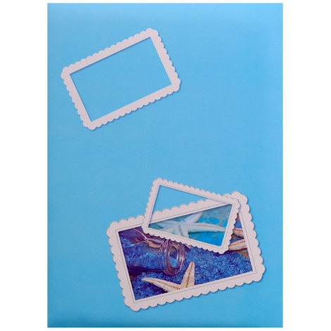 Fotoalbum 10x15/200 foto SIGNAL modrý