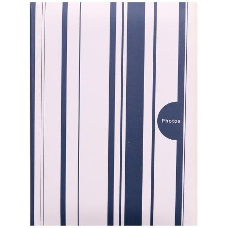 Fotoalbum 10x15/200 foto pop. COLOR STRIPES modrý