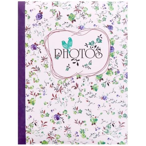 Fotoalbum 10x15/200 foto pop FIELD OF FLOWERS fialový