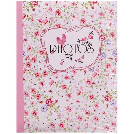 Fotoalbum 10x15/200 foto pop FIELD OF FLOWERS ružový
