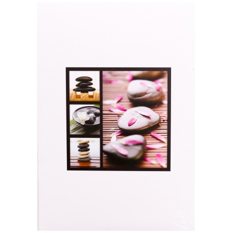Fotoalbum 10x15/402 foto pop. STONES biely