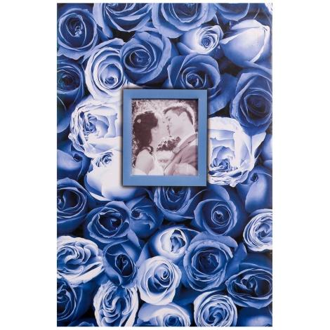 Fotoalbum 10x15/400 foto pop. ANYWHERE ROSES modrý