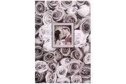 Fotoalbum 10x15/400 foto pop. ANYWHERE ROSES šedý