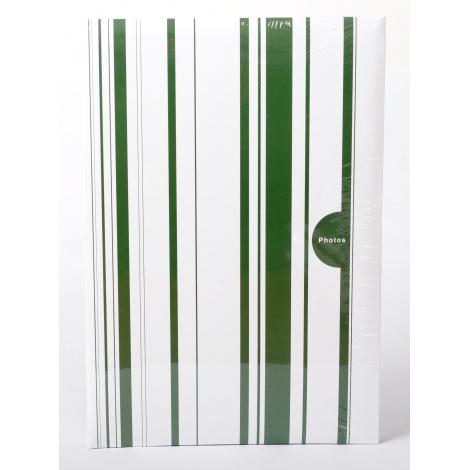 Fotoalbum 10x15/402 foto COLOR STRIPES zelený