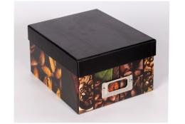Škatuľa na fotografie 10x15/700 foto SILENT MOMENTS káva