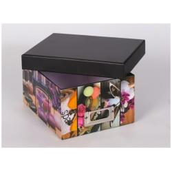 Škatuľa na fotografie 10x15/700 foto SILENT MOMENTS ružová