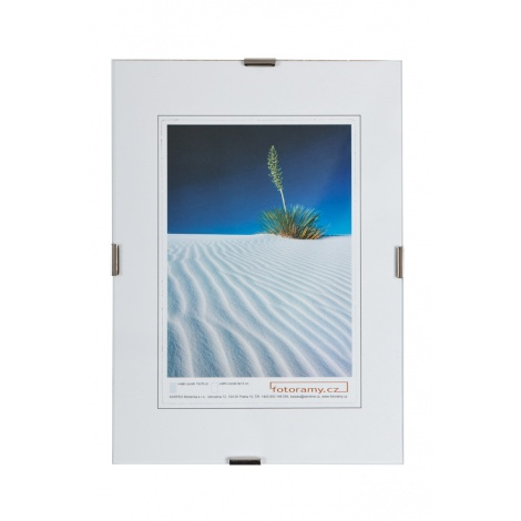 Sklenený clip rámik 42x60 A2 KARPEX