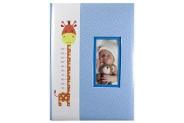Detský fotoalbum 9x13/100 RISE modrý