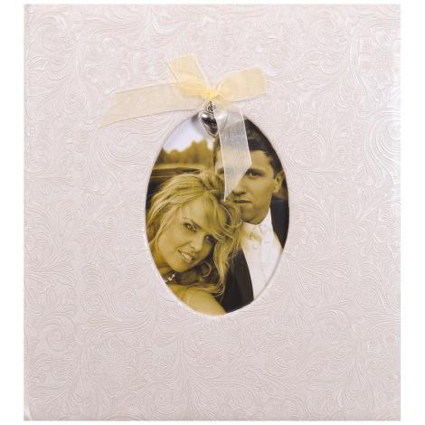 Svadobný fotoalbum na rožky GRACE zlatý