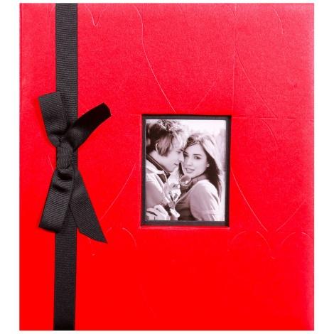 Fotoalbum na rožky 29x32/60s. TANGO červený