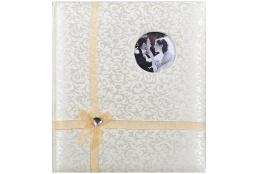 Svadobný fotoalbum na rožky TWINKLE LOVE zlatý