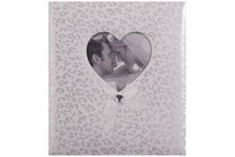 Svadobný fotoalbum na rožky HAPPY END 29x32/60s. biely
