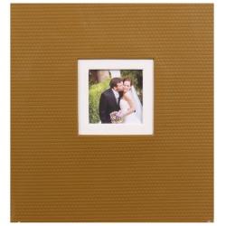 Svadobný fotoalbum na rožky TiAmo hnedý
