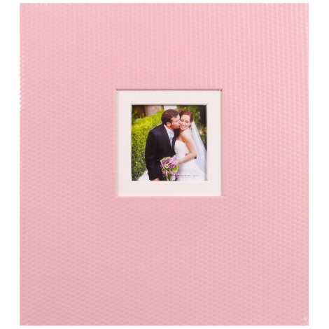 Svadobný fotoalbum na rožky TiAmo ružový
