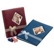 Svadobný fotoalbum na rožky BLEEDING HEART vínový