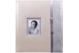 Svadobný fotoalbum na rožky FAIRY TALE strieborný