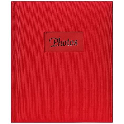 Fotoalbum na rožky 22x27cm/60s. DeLuxe červený
