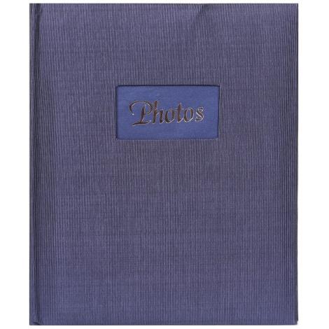 Fotoalbum na rožky 22x27cm/60s. DeLuxe modrý