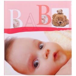 Detský fotoalbum na rožky BABY VITAL ružový