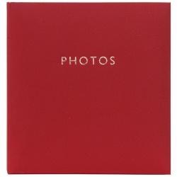 Fotoalbum 10x15/200 Contemporary classic červený