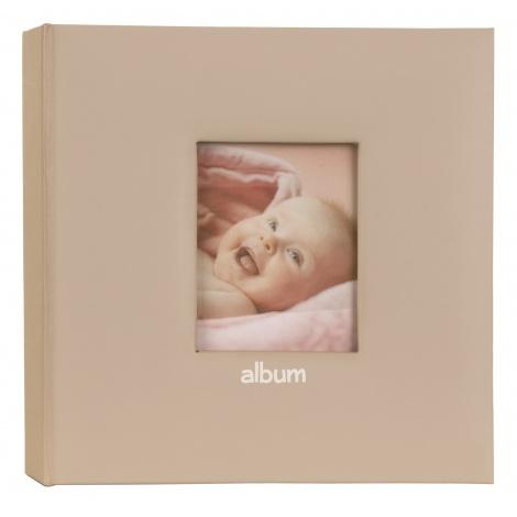 Detský fotoalbum Love Baby 10x15/200F s popisom ružový