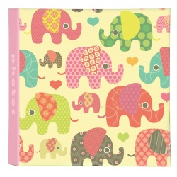 Detský fotoalbum 10x15/200foto Cute animals Slony