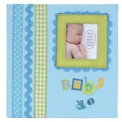 Detský fotoalbum  Baby memories 180/10x15 modrý