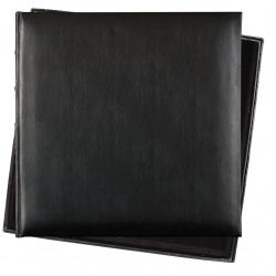 Fotoalbum 36x36/60s. Premium Bo.leather black